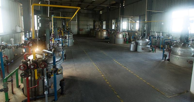 Liquid fermentation mycelium facility