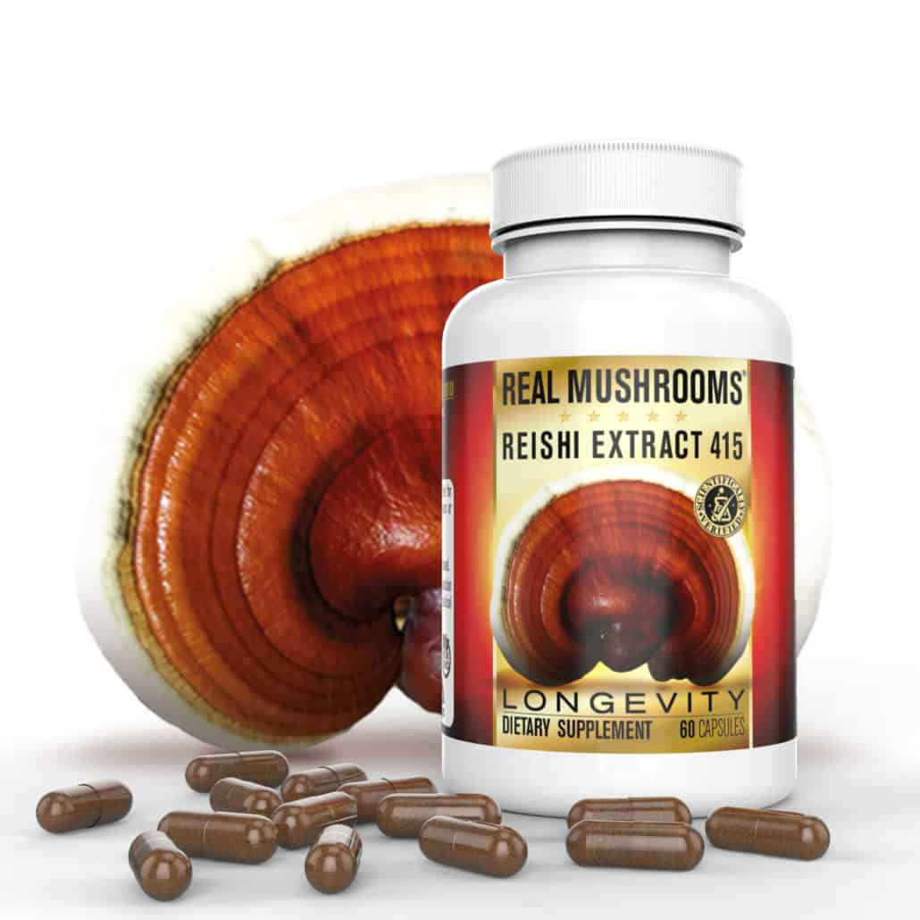 Real Mushrooms Reishi 415 Capsules