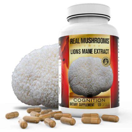 Lions Mane Mushroom Extract Capsules