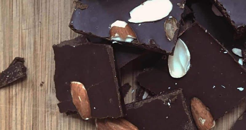 Chaga Chocolate Bark