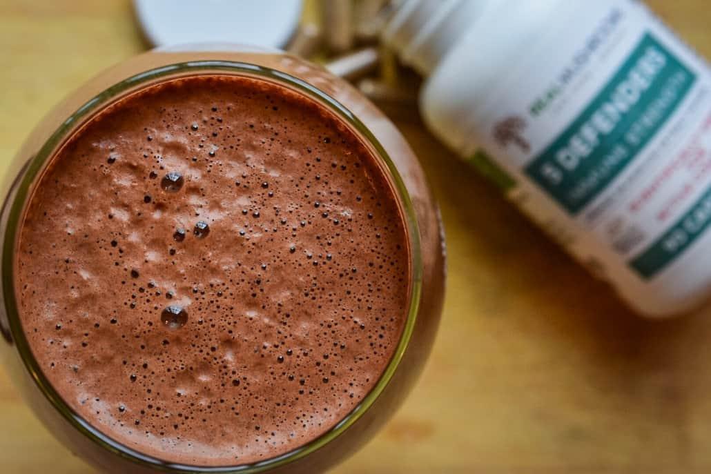 Mushroom powder Cacao Latte