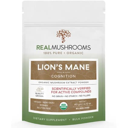 Lion's Mane Mushroom Extract pouch