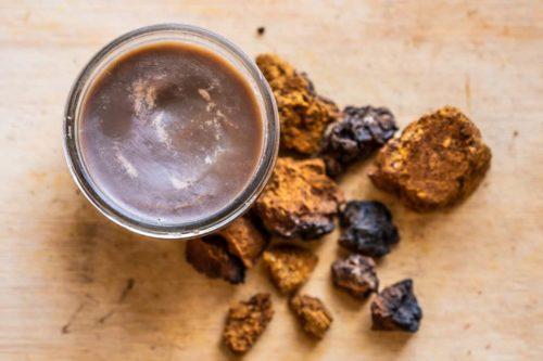 Chaga Skin Cream Recipe with mushroom powder