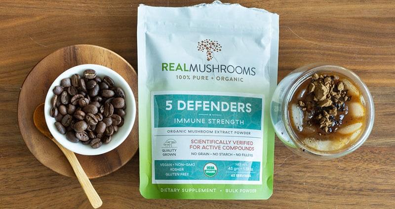 Mushroom-Coffee 5 Defenders