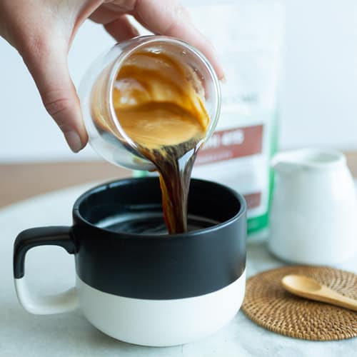 Making DIY Mushroom Coffee