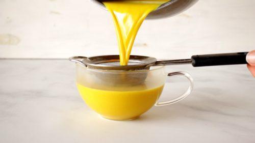 Vegan Mushroom Golden Milk instructions