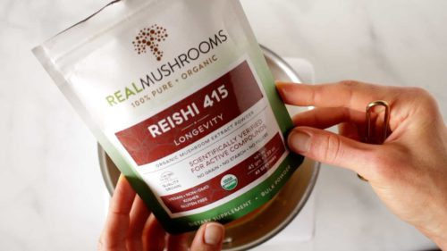 Real Mushrooms Reishi Packaging Photo