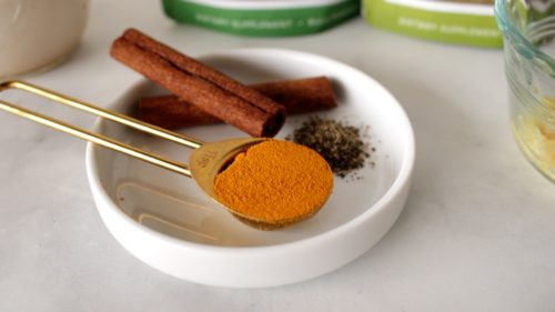 evening golden milk ingredients