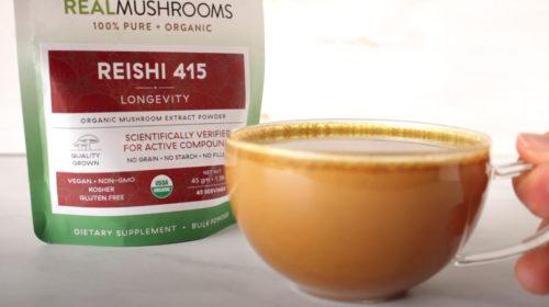 golden milk recipe reishi mushroom