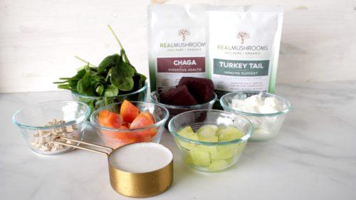 Acai Bowl Recipe ingredients