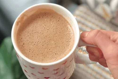 Tahini Adaptogen Latte with Mushroom Extract