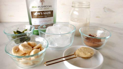 Lions mane smoothie ingredients