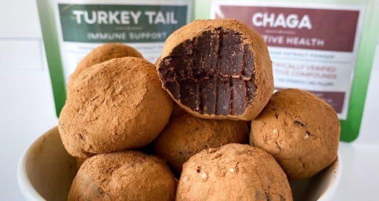 mushroom truffle recipe