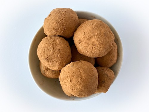 chocolate mushroom truffles